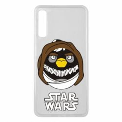 Чехол для Samsung A7 2018 Angry Birds Star Wars 3 - FatLine