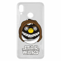 Чехол для Huawei P Smart Plus Angry Birds Star Wars 3 - FatLine