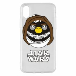 Чехол для iPhone X Angry Birds Star Wars 3 - FatLine