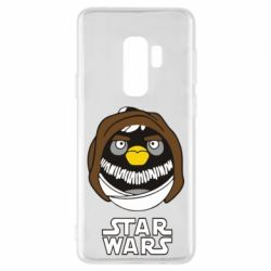 Чехол для Samsung S9+ Angry Birds Star Wars 3 - FatLine