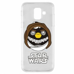 Чехол для Samsung A6 2018 Angry Birds Star Wars 3 - FatLine
