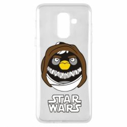 Чехол для Samsung A6+ 2018 Angry Birds Star Wars 3 - FatLine