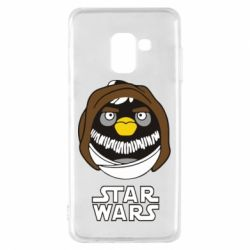 Чехол для Samsung A8 2018 Angry Birds Star Wars 3 - FatLine