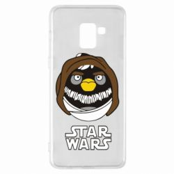 Чехол для Samsung A8+ 2018 Angry Birds Star Wars 3 - FatLine
