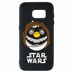 Чехол для Samsung S7 Angry Birds Star Wars 3 - FatLine