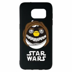 Чехол для Samsung S7 EDGE Angry Birds Star Wars 3 - FatLine