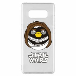 Чехол для Samsung Note 8 Angry Birds Star Wars 3 - FatLine