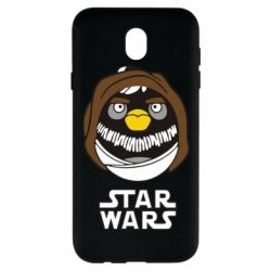 Чехол для Samsung J7 2017 Angry Birds Star Wars 3 - FatLine