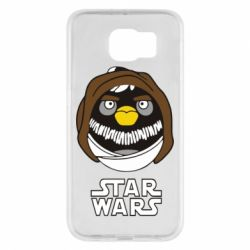 Чехол для Samsung S6 Angry Birds Star Wars 3 - FatLine