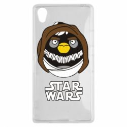 Чехол для Sony Xperia Z1 Angry Birds Star Wars 3 - FatLine
