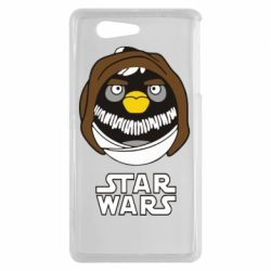 Чехол для Sony Xperia Z3 mini Angry Birds Star Wars 3 - FatLine