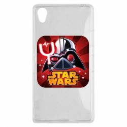 Чохол для Sony Xperia Z1 Angry Birds Star Wars Logo - FatLine