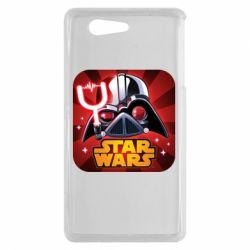 Чохол для Sony Xperia Z3 mini Angry Birds Star Wars Logo - FatLine