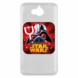 Чохол для Huawei Y5 2017 Angry Birds Star Wars Logo - FatLine