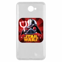 Чохол для Huawei Y7 2017 Angry Birds Star Wars Logo - FatLine