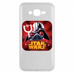 Чохол для Samsung J7 2015 Angry Birds Star Wars Logo - FatLine