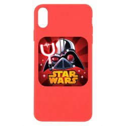 Чохол для iPhone Xs Max Angry Birds Star Wars Logo - FatLine