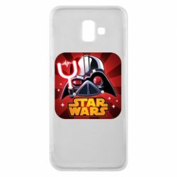 Чохол для Samsung J6 Plus 2018 Angry Birds Star Wars Logo - FatLine