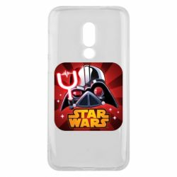Чохол для Meizu 16 Angry Birds Star Wars Logo - FatLine