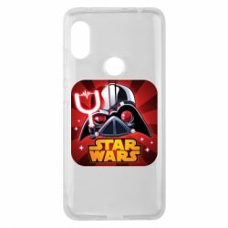 Чохол для Xiaomi Redmi Note 6 Pro Angry Birds Star Wars Logo - FatLine