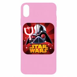 Чохол для iPhone X Angry Birds Star Wars Logo - FatLine