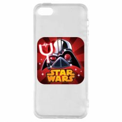 Чохол для iphone 5/5S/SE Angry Birds Star Wars Logo - FatLine
