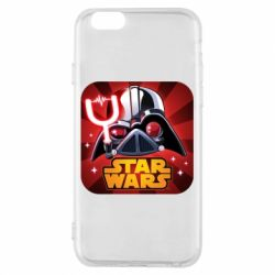 Чохол для iPhone 6/6S Angry Birds Star Wars Logo - FatLine