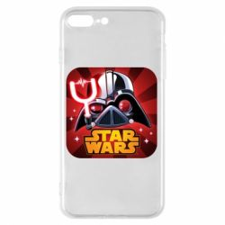 Чохол для iPhone 8 Plus Angry Birds Star Wars Logo - FatLine