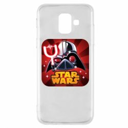 Чохол для Samsung A6 2018 Angry Birds Star Wars Logo - FatLine