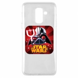 Чохол для Samsung A6+ 2018 Angry Birds Star Wars Logo - FatLine