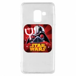 Чохол для Samsung A8 2018 Angry Birds Star Wars Logo - FatLine