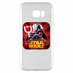 Чохол для Samsung S7 EDGE Angry Birds Star Wars Logo - FatLine
