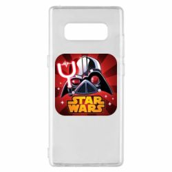 Чохол для Samsung Note 8 Angry Birds Star Wars Logo - FatLine