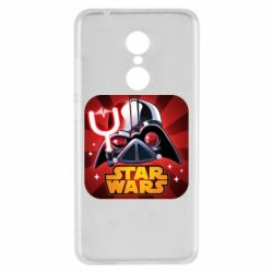 Чохол для Xiaomi Redmi 5 Angry Birds Star Wars Logo - FatLine