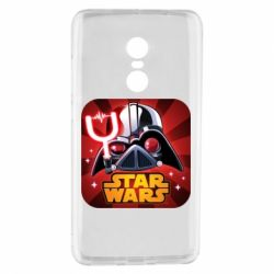 Чохол для Xiaomi Redmi Note 4 Angry Birds Star Wars Logo - FatLine