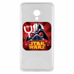 Чохол для Meizu M5 Angry Birds Star Wars Logo - FatLine