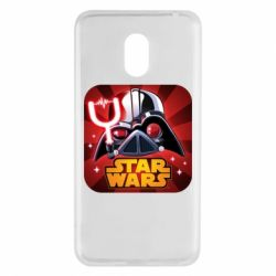 Чохол для Meizu M6 Angry Birds Star Wars Logo - FatLine