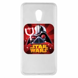 Чохол для Meizu Pro 6 Plus Angry Birds Star Wars Logo - FatLine
