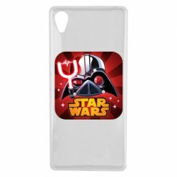 Чохол для Sony Xperia X Angry Birds Star Wars Logo - FatLine