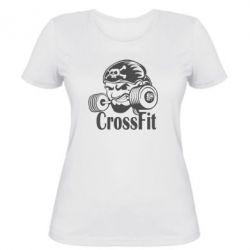 Женская футболка Angry CrossFit - FatLine