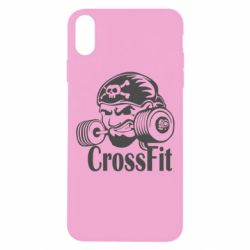 Чехол для iPhone Xs Max Angry CrossFit
