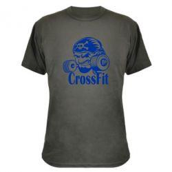 Камуфляжная футболка Angry CrossFit - FatLine