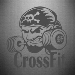 Наклейка Angry CrossFit - FatLine