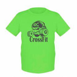 Детская футболка Angry CrossFit - FatLine