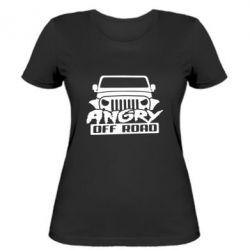 Женская футболка Angry Off Road