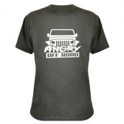 Камуфляжная футболка Angry Off Road