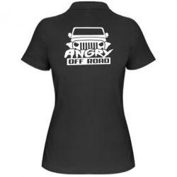 Женская футболка поло Angry Off Road
