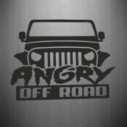Наклейка Angry Off Road