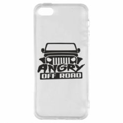Чохол для iphone 5/5S/SE Angry Off Road