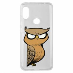 Чехол для Xiaomi Redmi Note 6 Pro Angry owl